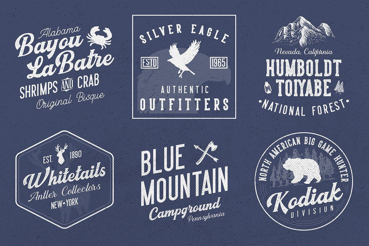 Harsey Type ToolBox (16 FONTS) example image 3