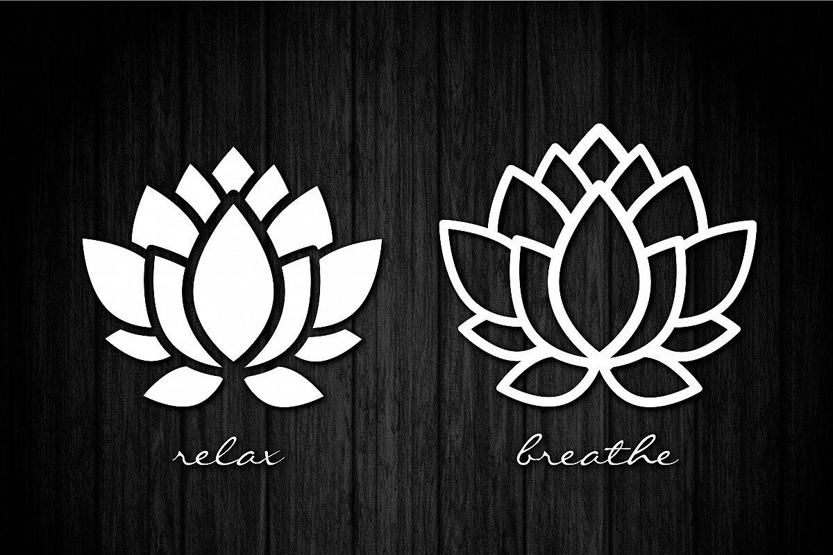 Lotus flower svg cut files vinyl cu design bundles lotus flower svg cut files vinyl cutters screen printing silhouette die mightylinksfo