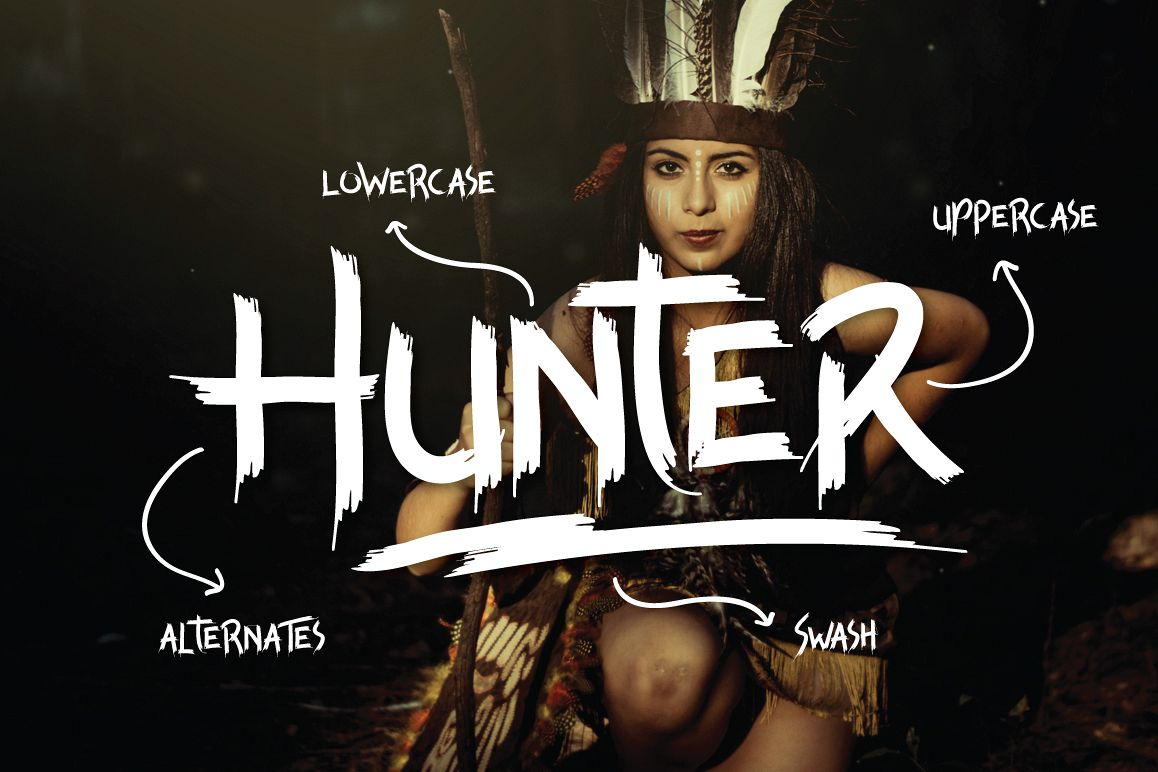 Hunter example image