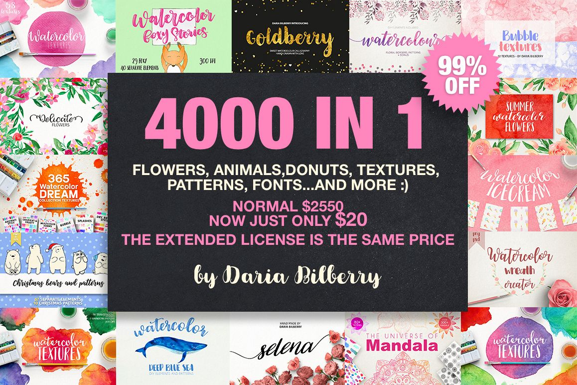 4000 IN 1 GRAPHIC BUNDLE SUPER SALE example image