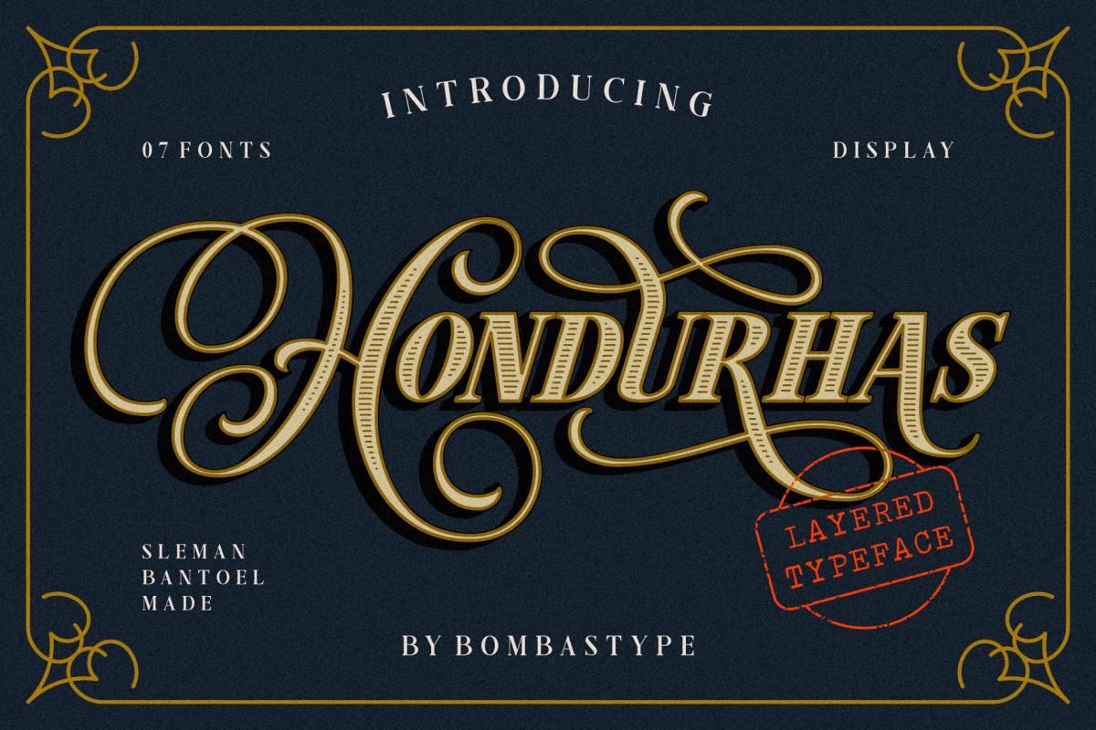 Hondurhas Layered example image