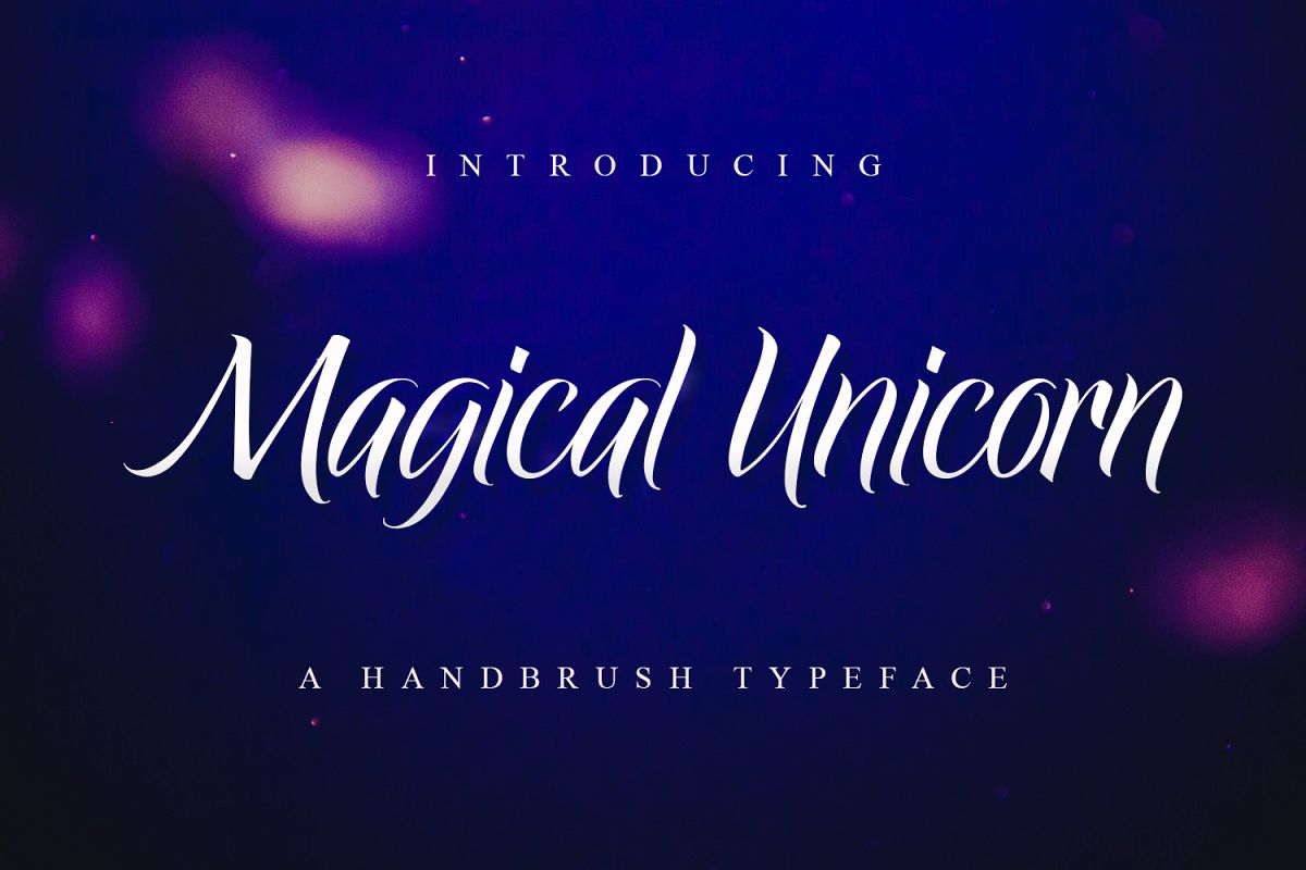 Magical Unicorn example image