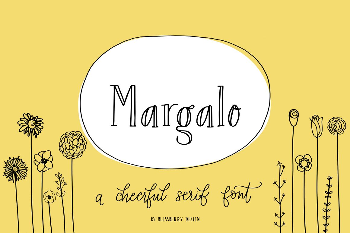 Margalo Font + Extras example image