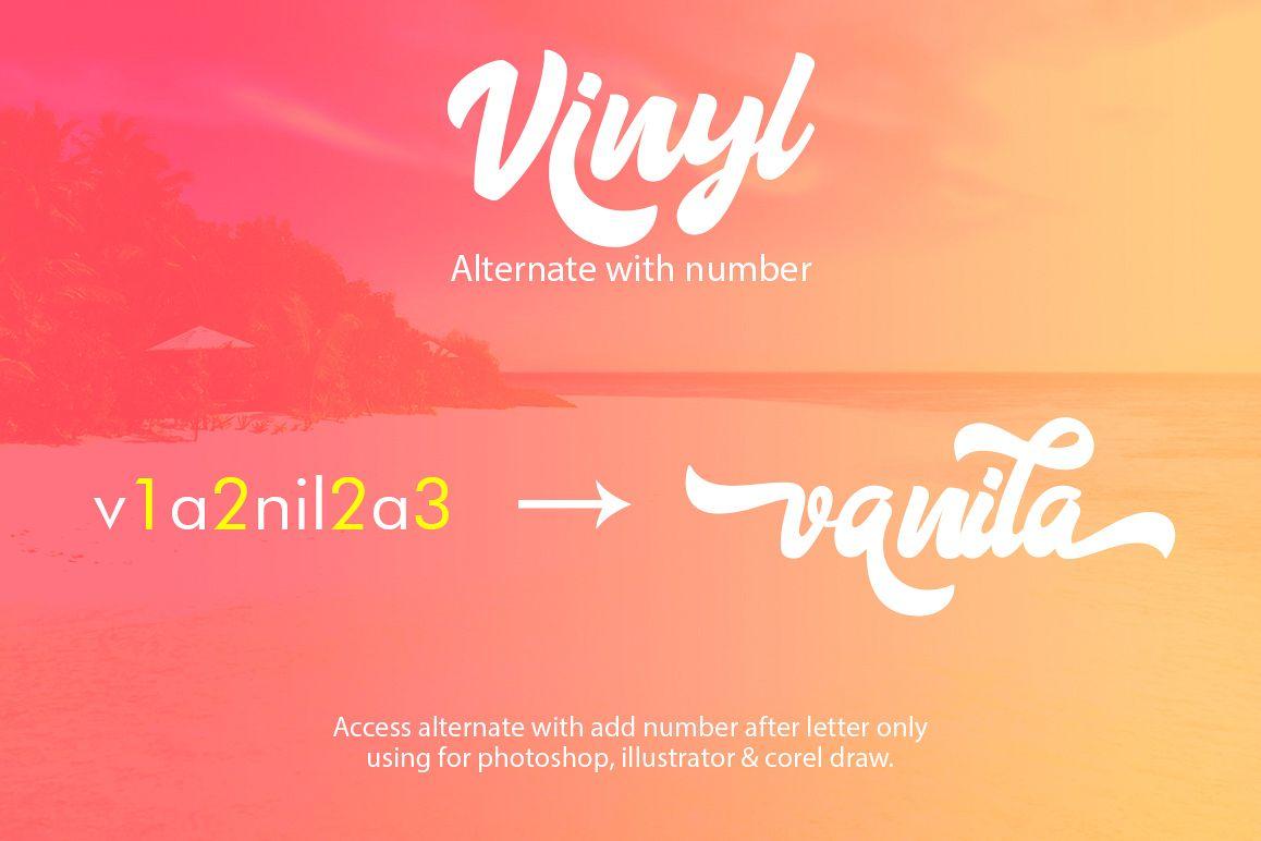 Vinyl Script example image 5
