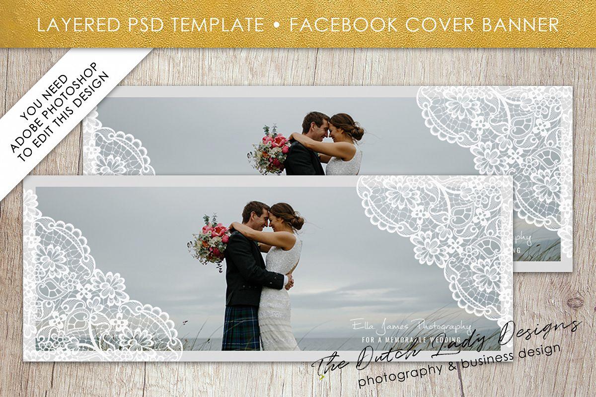 Photography Facebook Cover Banner Templ   Design Bundles