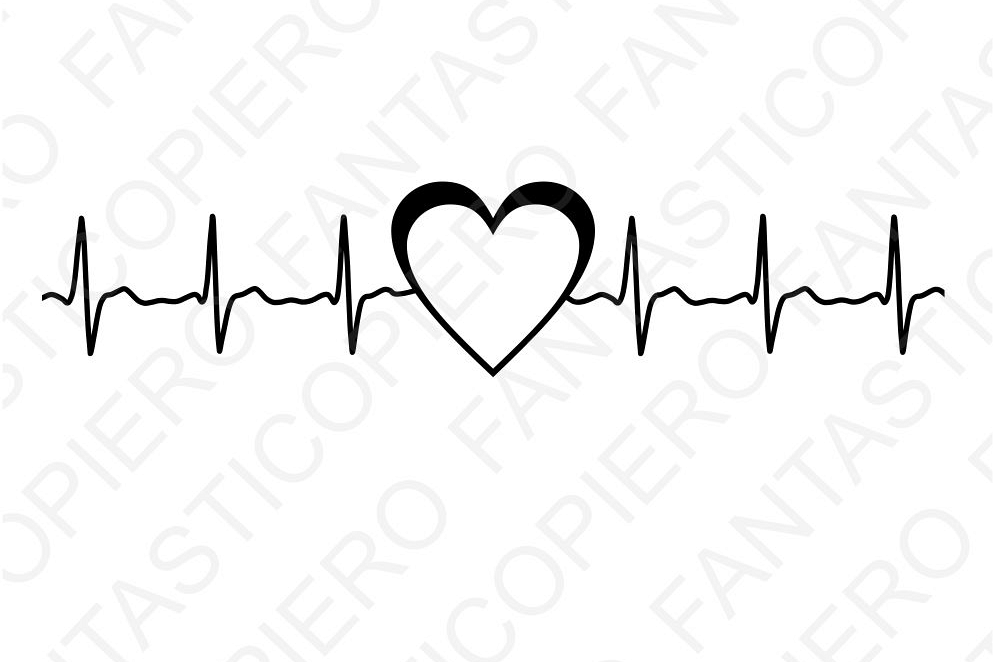 cardio heart svg files for silhouette c design bundles rh designbundles net heartbeat clipart vector heartbeat clipart black and white