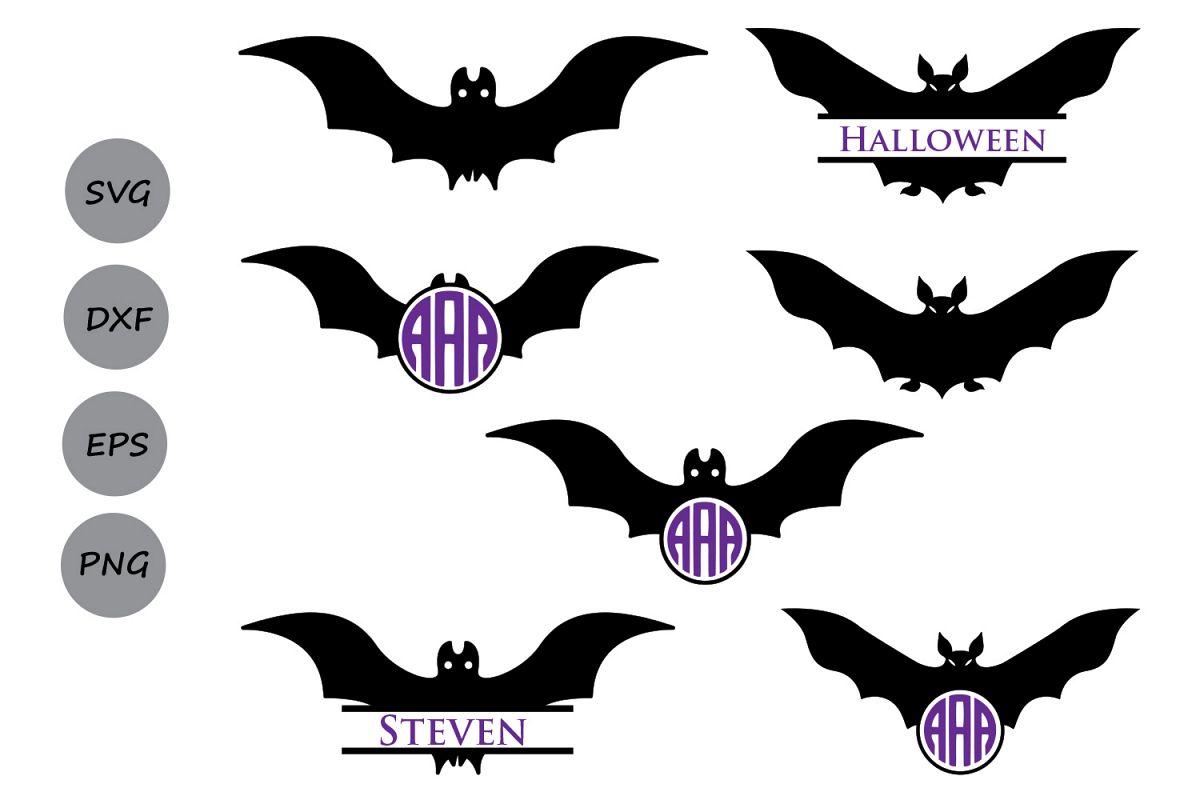 halloween bats svg cut files halloween svg halloween bats monogram svg halloween monogram - Halloween Pictures Bats