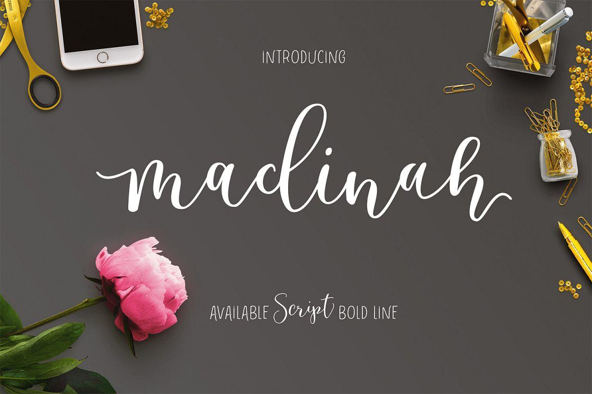 Madinah Font example image