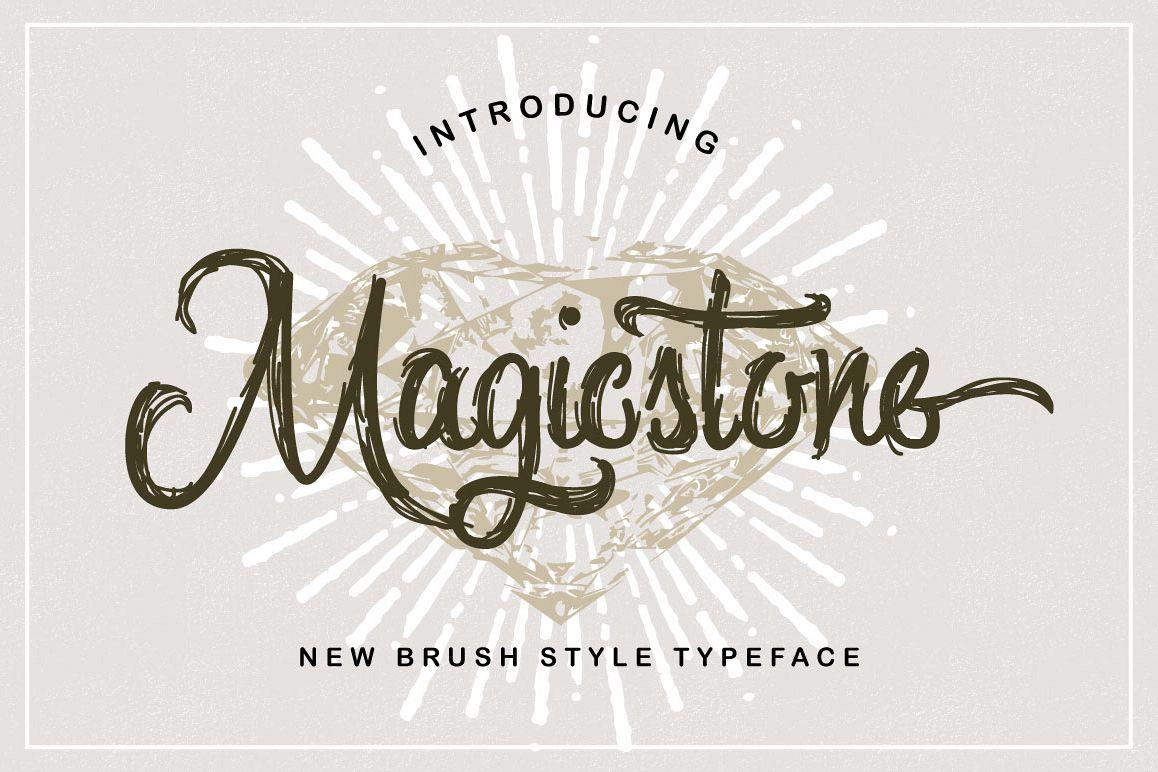 Magicstone Typeface example image