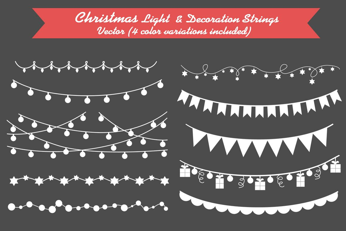 Christmas Light & Decoration strings example image
