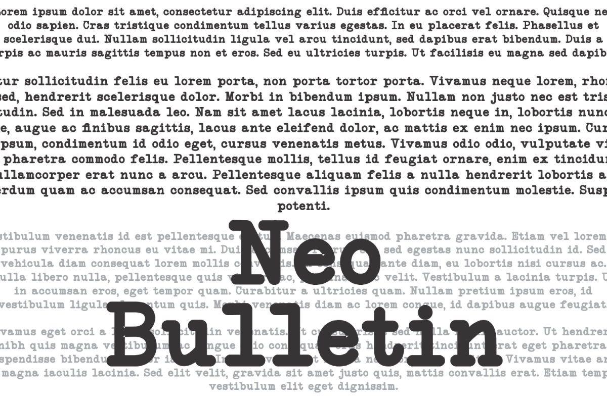 NeoBulletin example image