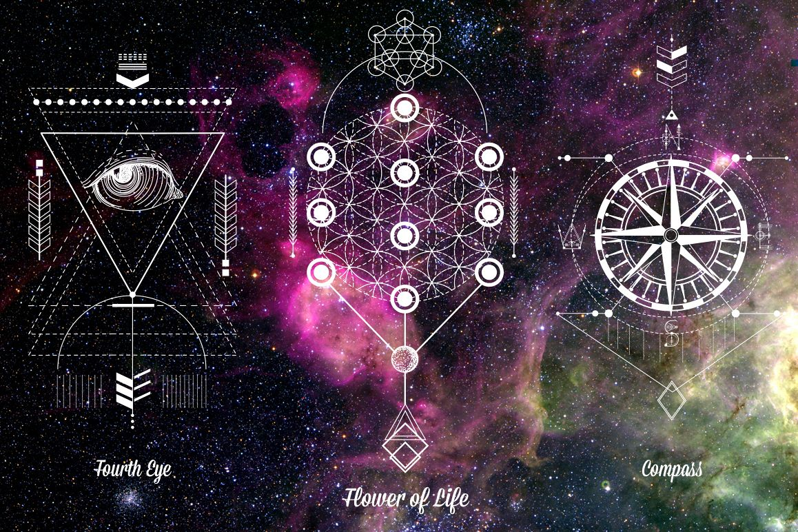 Sacred Geometry. Magic totem vol.2 example image 4