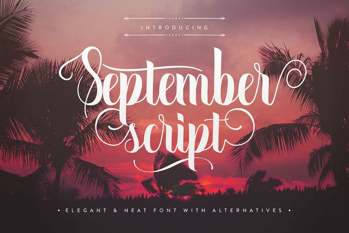September Script example image