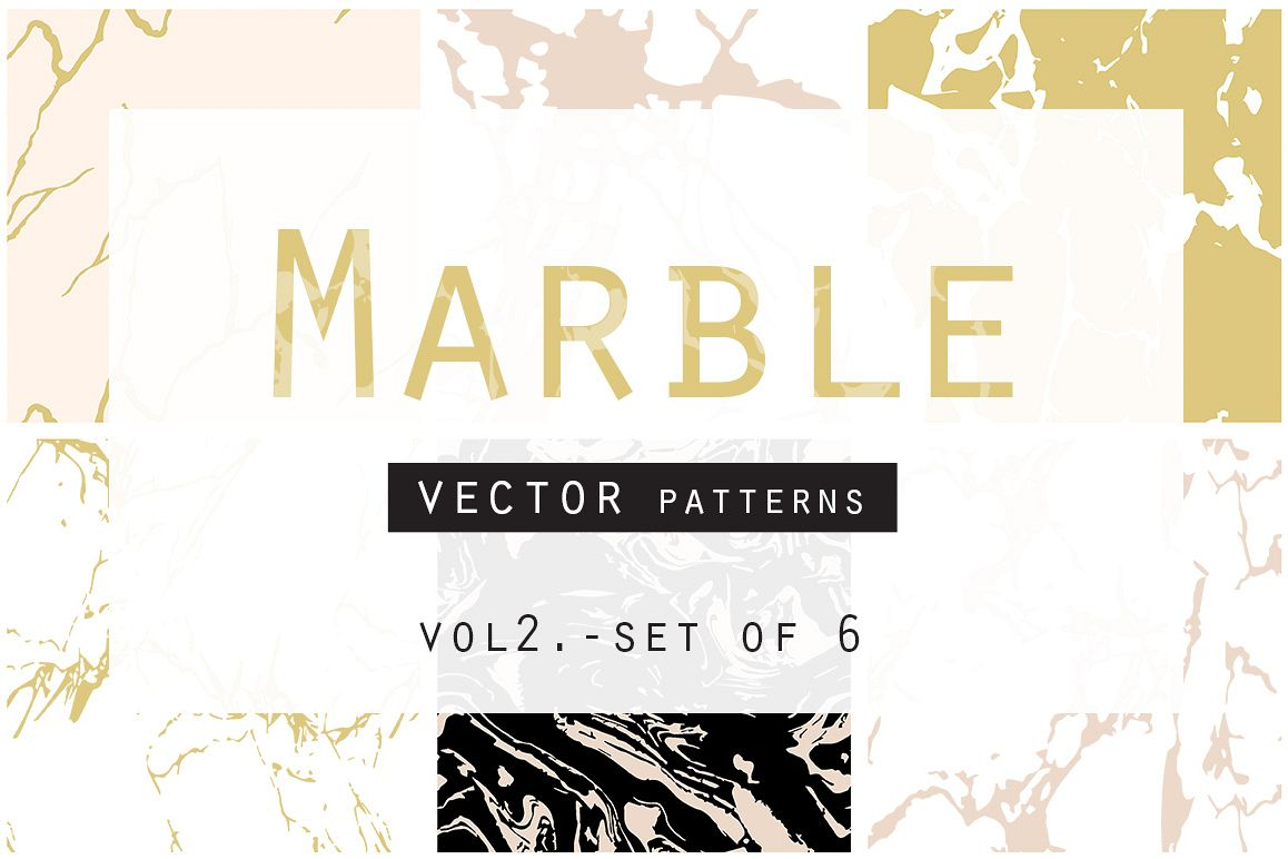 Marble Seamless Vector Patterns example image
