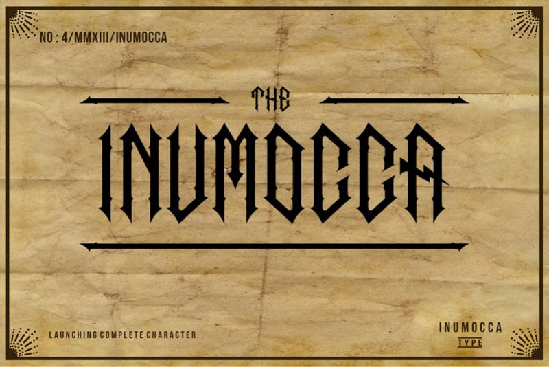 The Inumocca complete example image