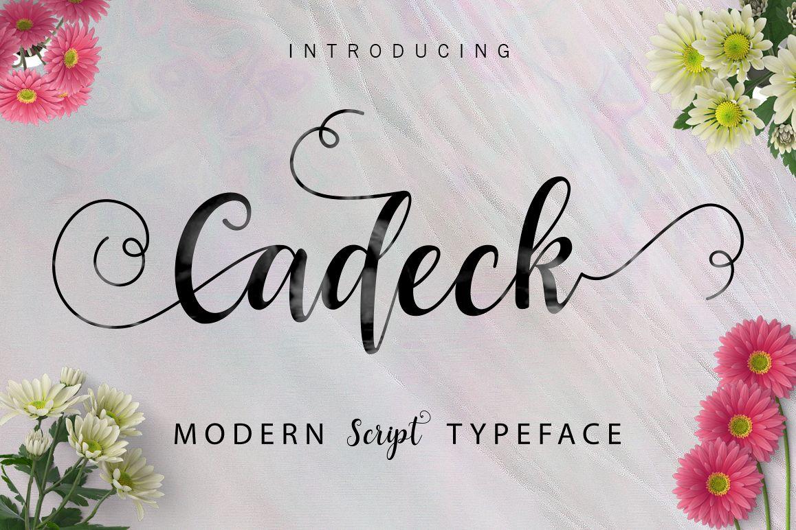 Cadeck script by font bundles store font bundles 01 kristyandbryce Choice Image