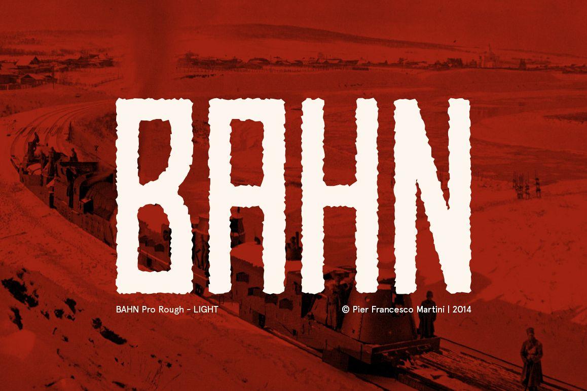 BAHN Pro Rough - LIGHT example image