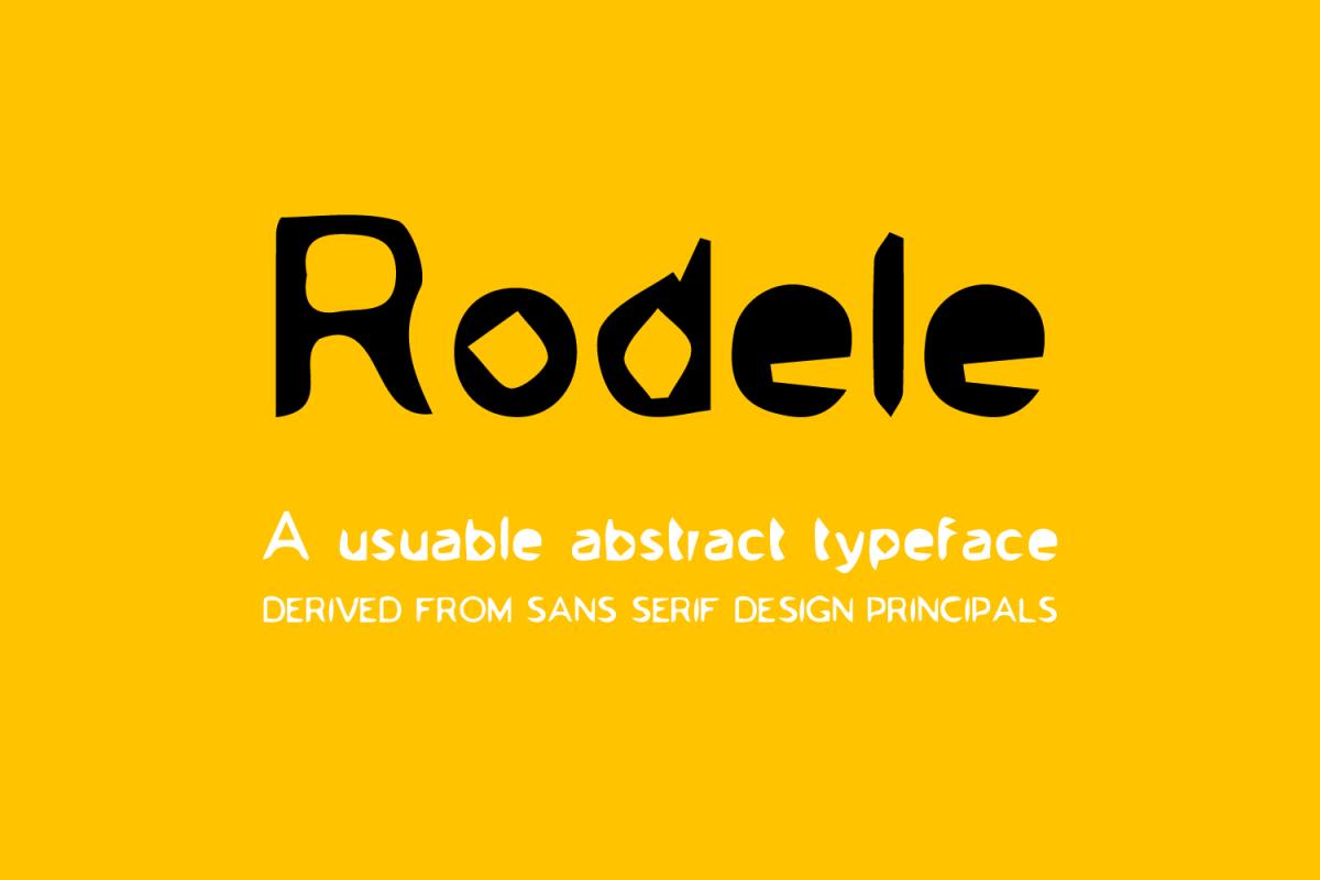 Rodele example image