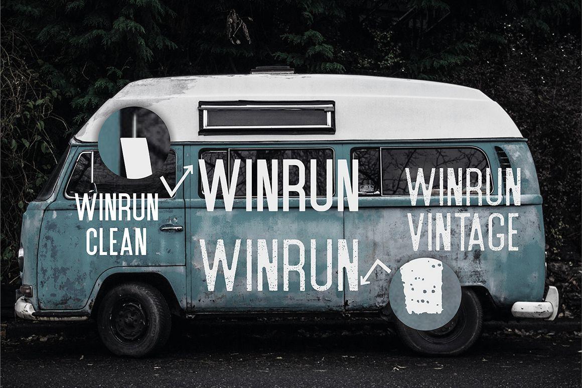 Winrun Typeface example image 2