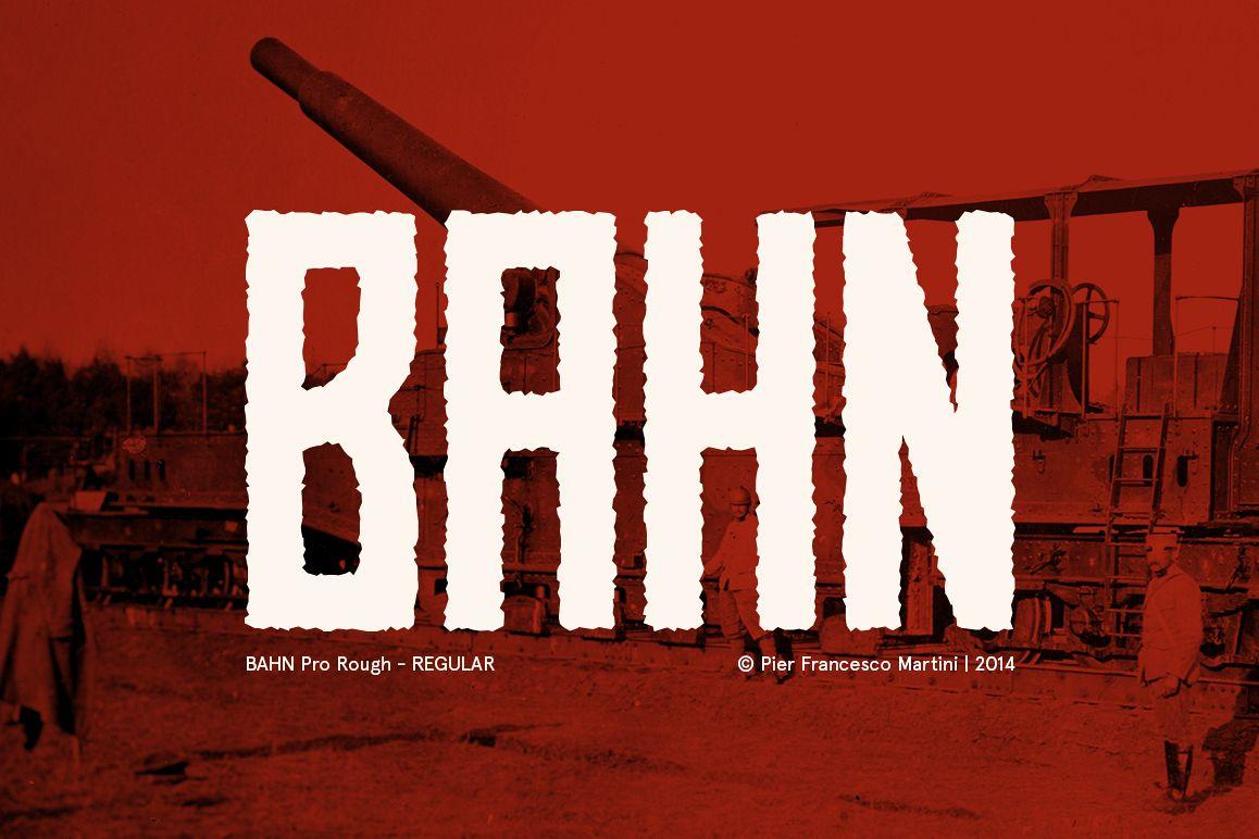 BAHN Pro Rough - REGULAR example image