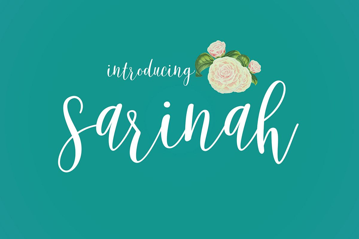 Sarinah Script example image