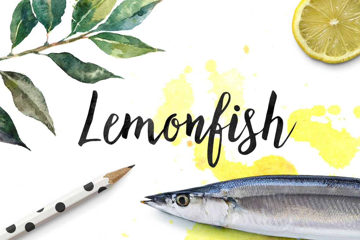 Lemonfish example image