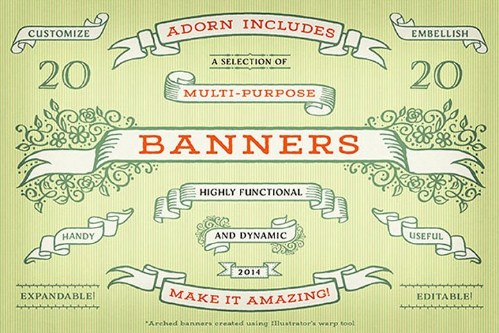 Adorn Banners example image
