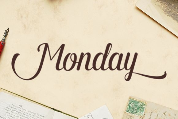 Monday Script example image
