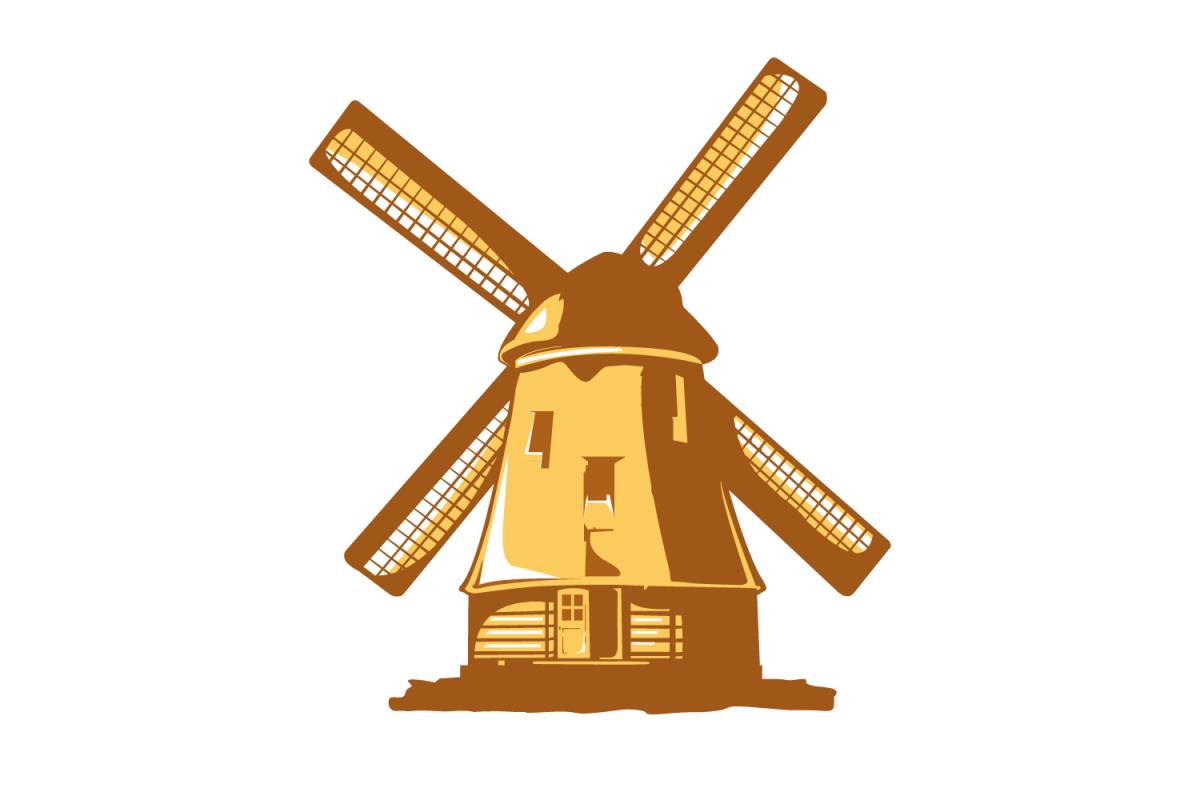 vector windmill by vectorshop design bundles rh designbundles net windmill vector clipart windmill vector png