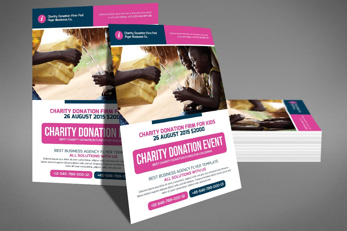 donation flyer example - Akba.greenw.co
