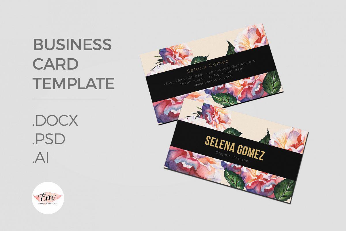 Elegant Business Card Template / Creati | Design Bundles