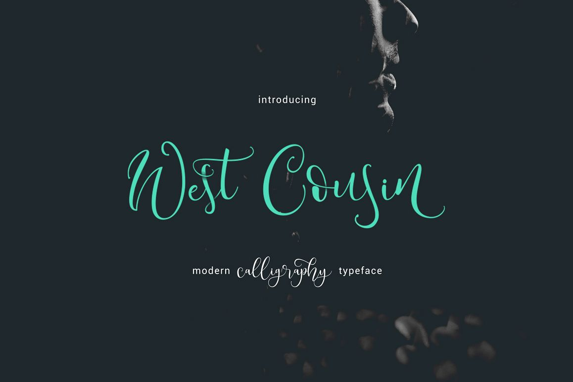 West Cousin Typeface example image