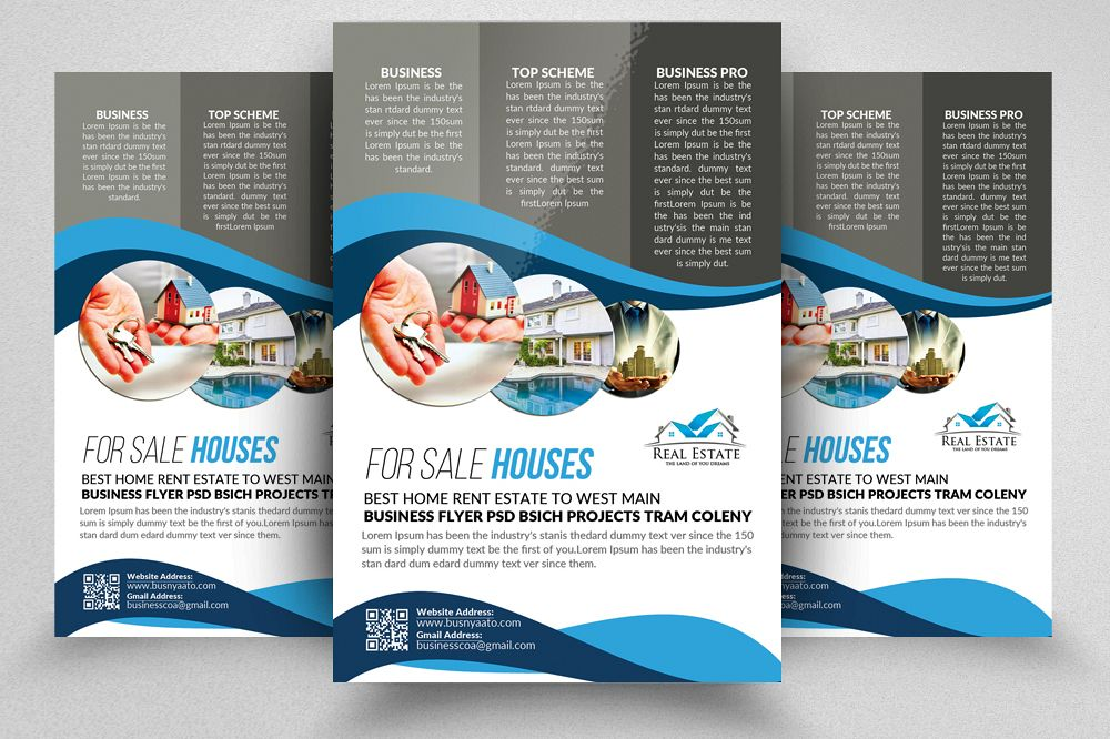 Real Estate Editable Flyer Template By Design Bundles