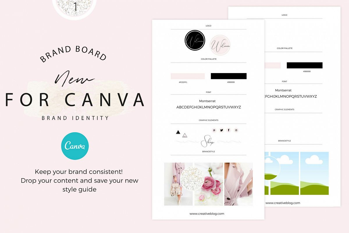 Brandboards for Canva example image