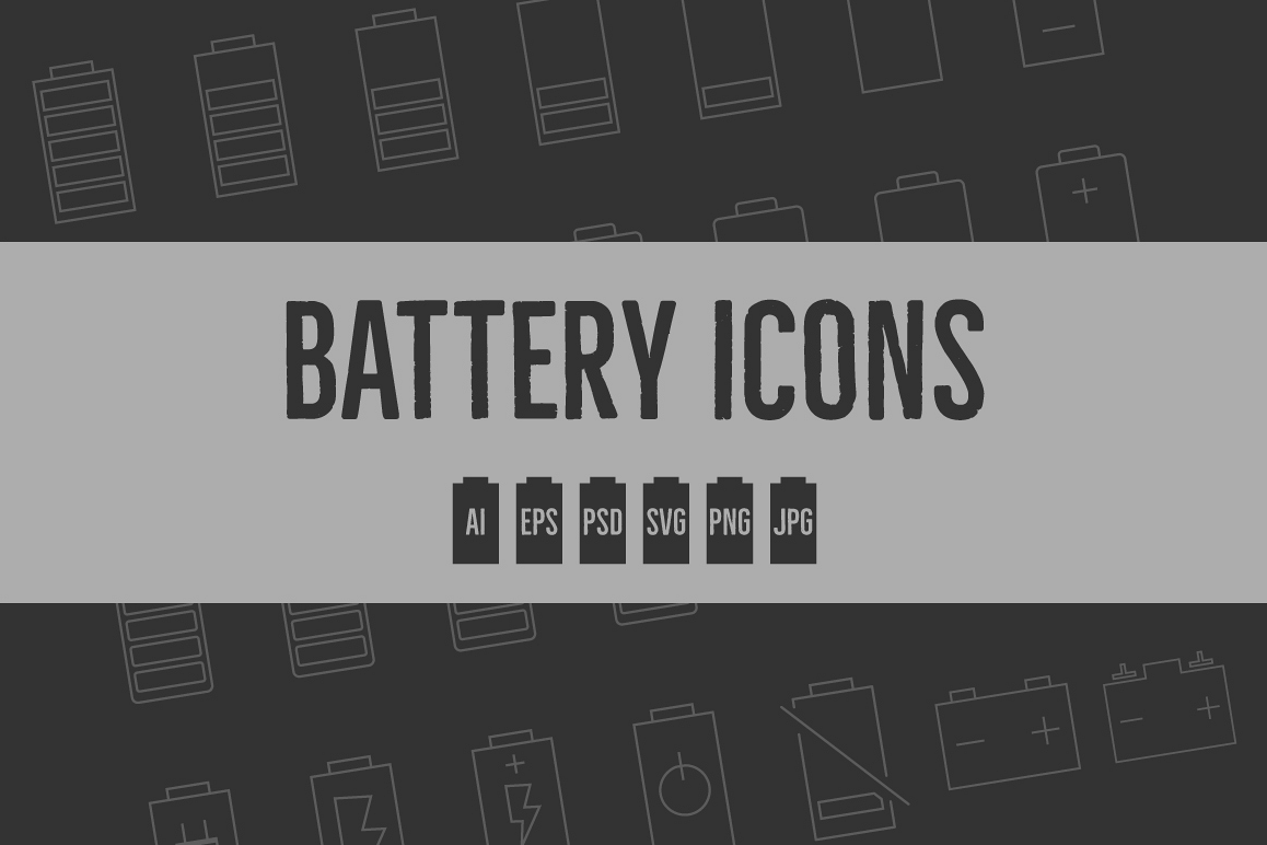 Battery Level Icons example image