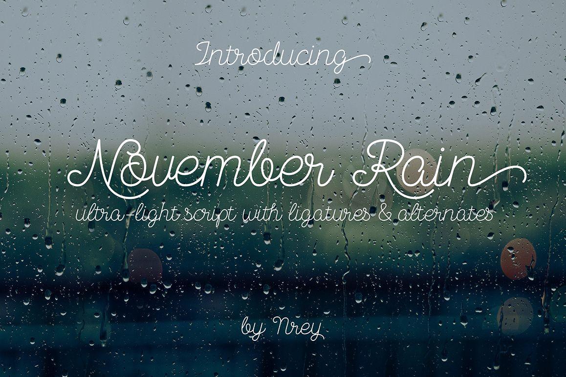 November Rain example image