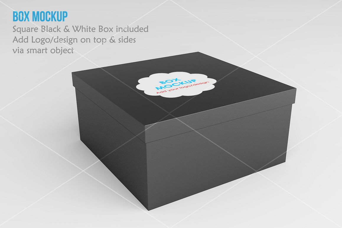 Square Box Mock up example image