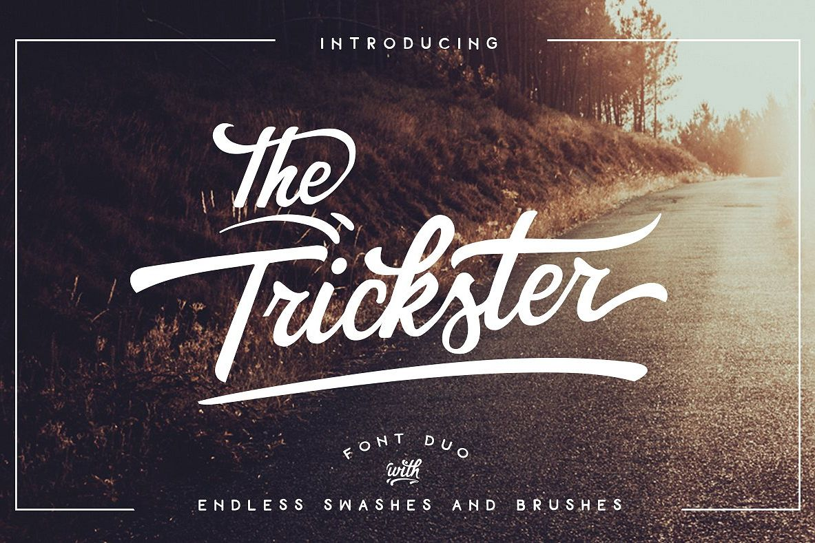 The Trickster Font Duo + extras example image