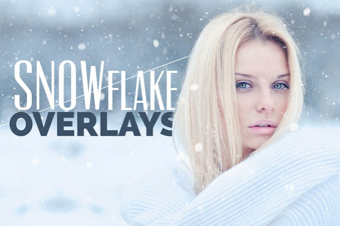 Snowflake Photo Overlays example image