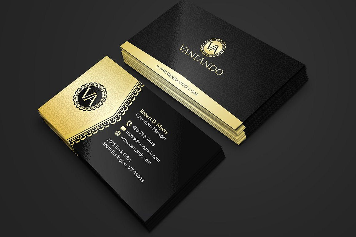 Black business cards akbaeenw black business cards colourmoves