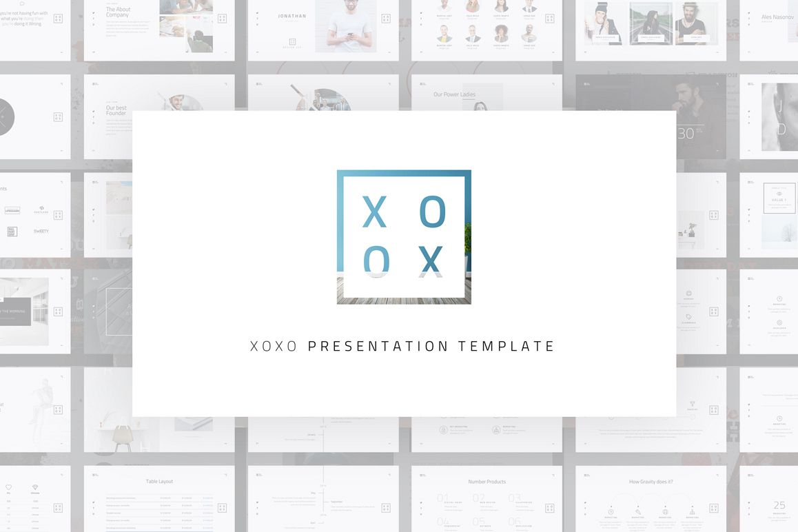 Xoxo minimal powerpoint template by dub design bundles xoxo minimal powerpoint template example image toneelgroepblik Image collections