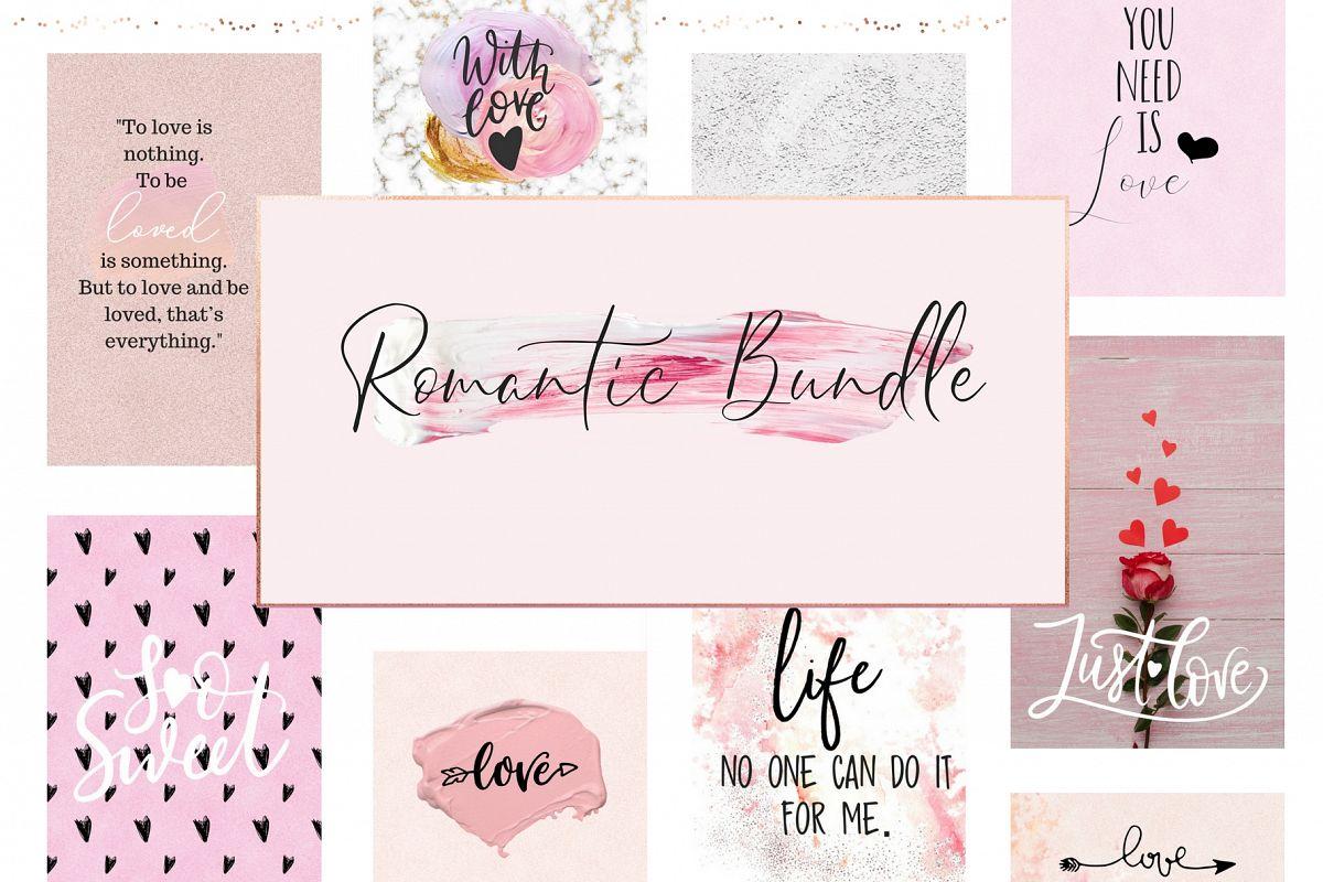 A romantic bundle example image