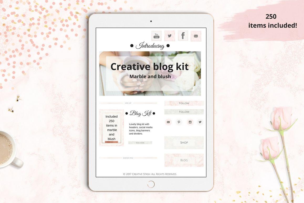 The Creative blog kit example image