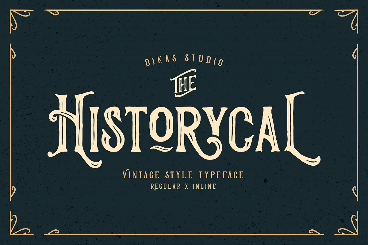 Historycal - 2 Font Styles example image