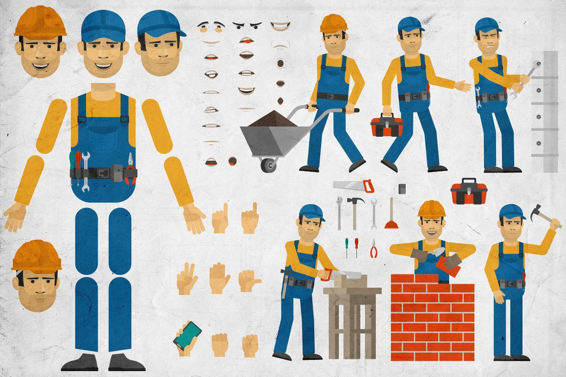 Builder creation set example image