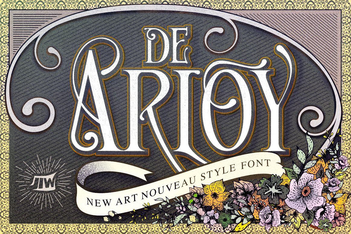 De Arloy Typeface example image