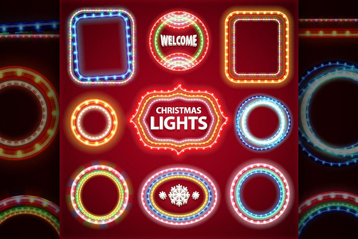Christmas Lights Decorations Set example image 5