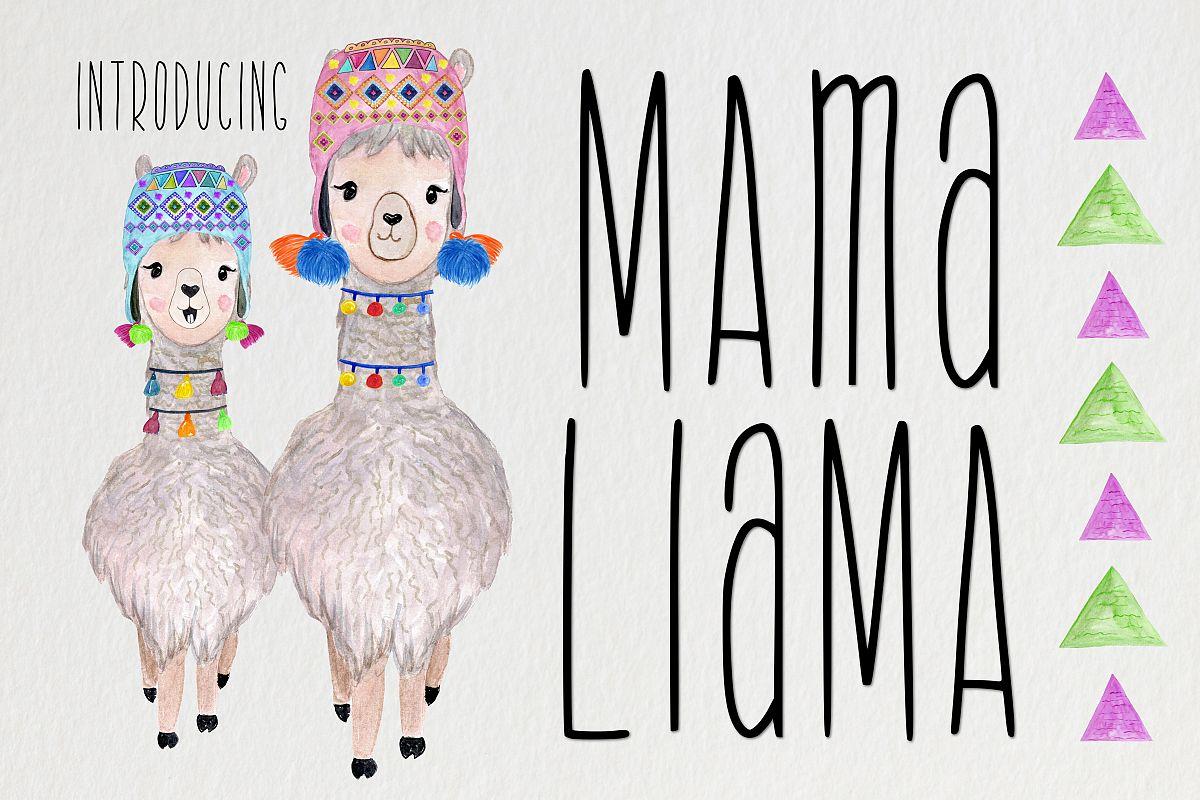 Mama Llama example image