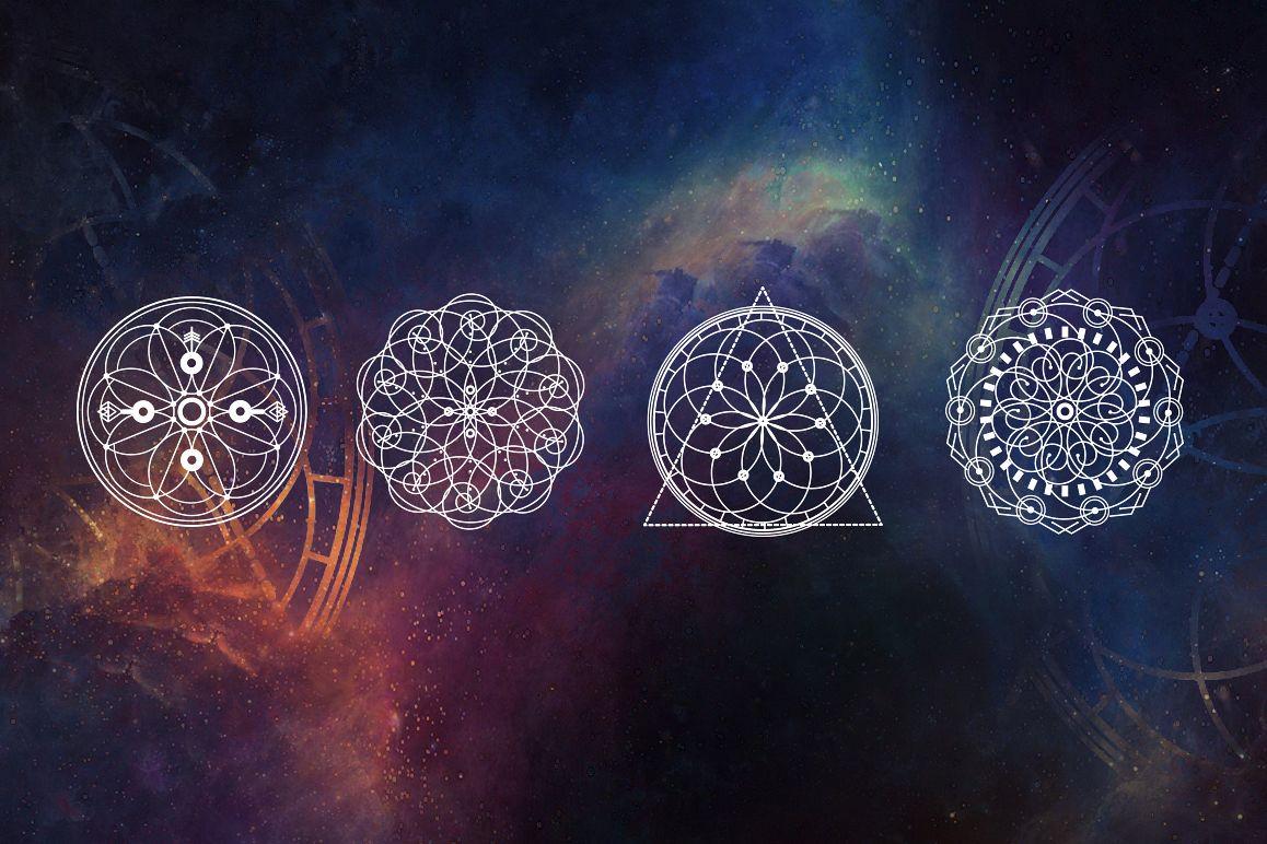 16 Sacred symbols  example image 2