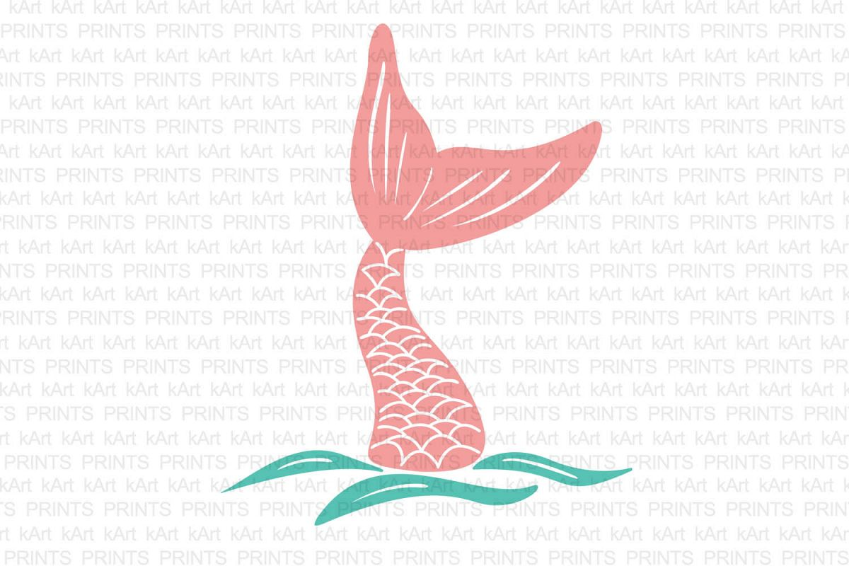 mermaid tail svg, hand drown mermaid tail, fish tail svg, mermaid iron on, hand drawn svg, hand drawn art, hand drawn logo, dxf, png, jpeg example image